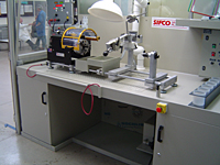 Customized workstation with turning head and ventillation